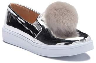 Kensie Pompom Sneaker (Little Girls & Big Girls)