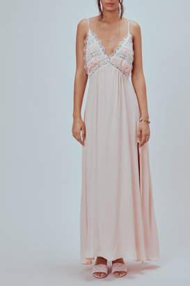 For Love & Lemons Lovebird Maxi Dress