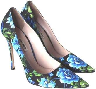 Miu Miu Cloth heels
