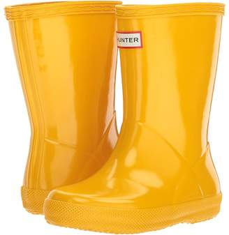 Hunter Original Kids' First Classic Gloss Rain Boot Kids Shoes