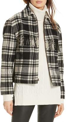Polo Ralph Lauren Wool Blend Plaid Jacket