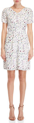 Yumi French Botanical Day Dress