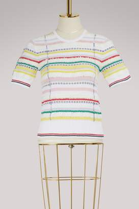 Thom Browne Striped knit top