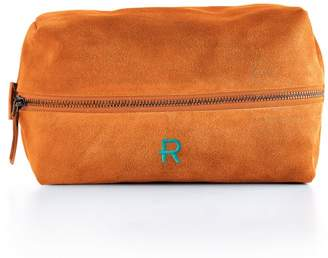 Mark And Graham Suede Boho Travel Pouch, Bright Colors