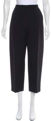Celine Wool-Blend High-Rise Pants