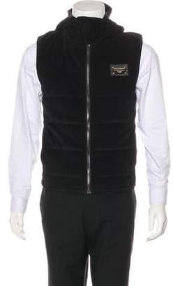 Dolce & Gabbana Corduroy Quilted Vest