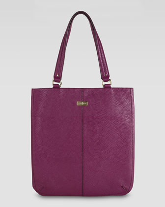 Cole Haan Village Flat Tote Bag, Wineberry