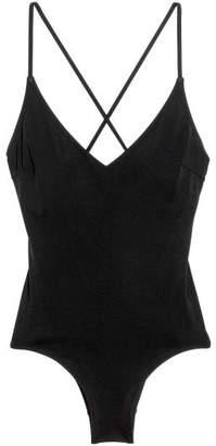 H&M V-neck Swimsuit - Black