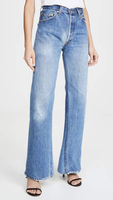 RE/DONE 70's Ultra High Rise Bell Bottoms