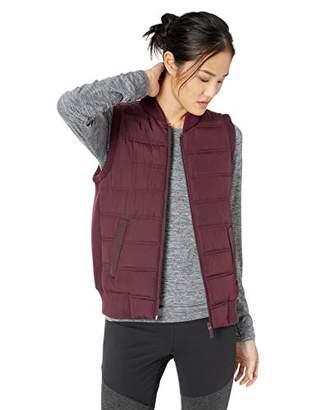 Betsey Johnson Women's Hybrid Rib Trim Quilt Vest