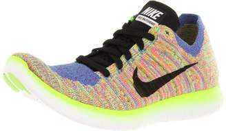Nike Women's Free Running Motion Flyknit Shoes,