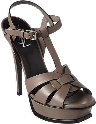 Saint Laurent Classic Tribute 105 Leather Sandal