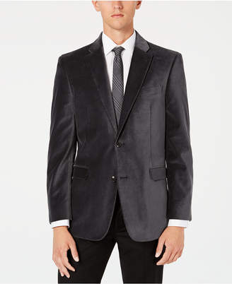 Tommy Hilfiger Men Modern-Fit Th Flex Stretch Solid Velvet Sport Coat