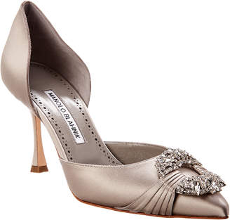 b780faf45698 Manolo Blahnik Gray Women s Sandals - ShopStyle