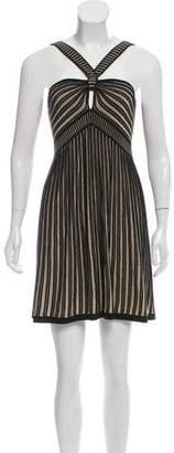 Temperley London Silk Blend Mini Dress