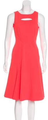 Zac Posen A-Line Midi Dress w/ Tags