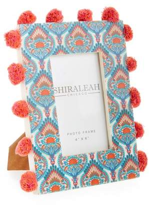 Shiraleah Wanderer Peacock Picture Frame