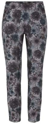 Tribal Black Floral Jeggings