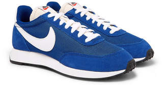 Nike Tailwind 79 Mesh, Suede And Leather Sneakers