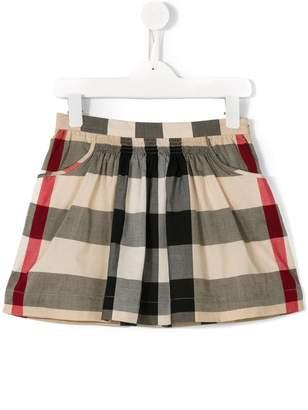 Burberry new classic check skirt