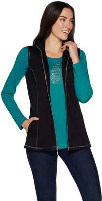 Factory Quacker French Terry Vest and Long Sleeve T-shirt Set