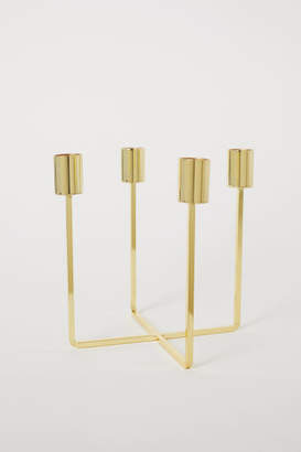H&M Metal Candle Holder - Gold