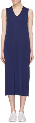 Rag & Bone 'Phoenix' side split jersey dress