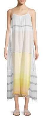 Lemlem Zena Striped Slip Dress