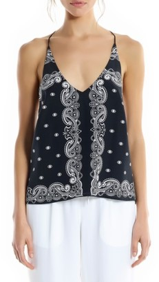 Women's Kendall + Kylie Bandana Silk Camisole $150 thestylecure.com