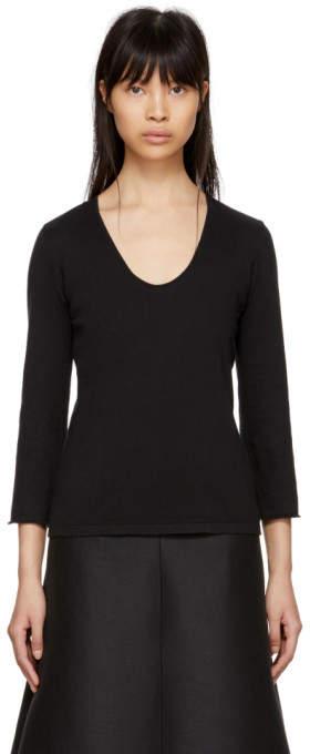 Moderne Black Studio Knit Sweater