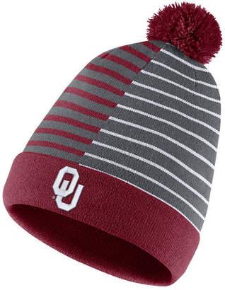 b00c0194aef Nike Oklahoma Sooners Striped Beanie Knit Hat