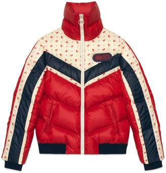 Gucci Nylon jacket with patch