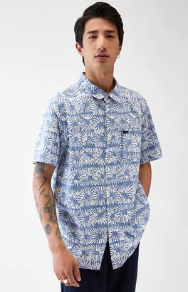 RVCA Flowers Block Short Sleeve Button Up Shirt
