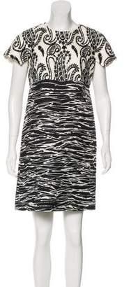 Giambattista Valli Silk Jacquard Dress
