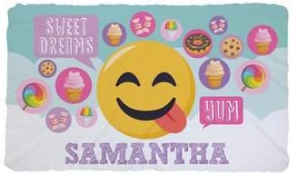 EMOJI Emoji Sweet Dreams Kids Fuzzy Fleece Blanket