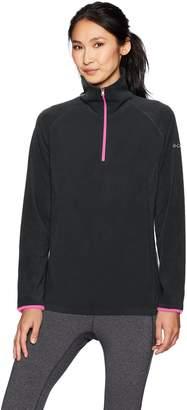 Columbia Women's Plus Sizeglacial Fleece Iii 1/2 Zip Glacial Jacket