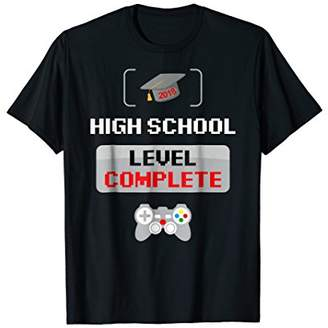 High School Graduation TShirt Video Gamer Graduation Gifts