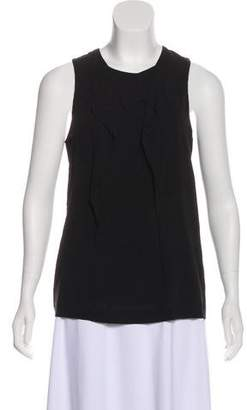 Vince Silk Sleeveless Top