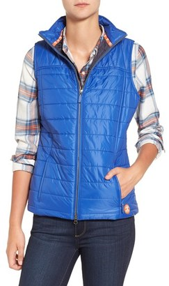 Women's Barbour 'Brae' Quilted Vest $179 thestylecure.com