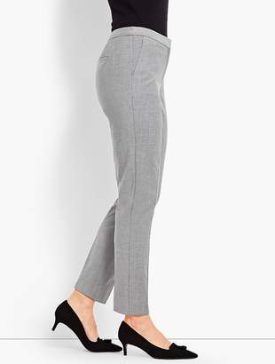 Talbots Seasonless Wool Slim Ankle Pant
