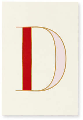 Kate Spade It's Personal Initial Collection Notepad, D