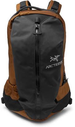 Arc'teryx Arro 22 Nylon And Canvas Backpack