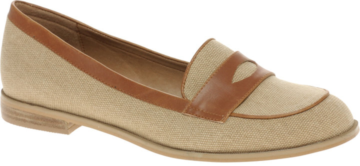 ASOS MARCH ON Canvas Mix Loafer