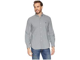 Polo Ralph Lauren Long Sleeve Solid Garment Dyed Oxford Classic Fit Sport Shirt