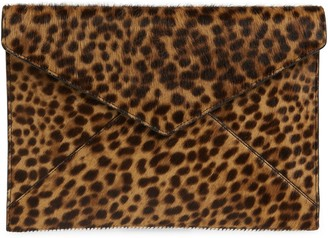 Rebecca Minkoff Leo Genuine Calf Hair Clutch