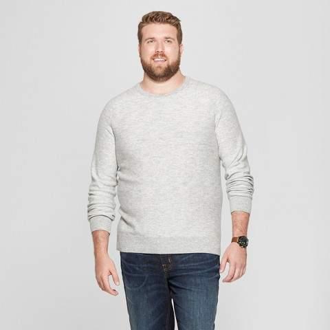 Goodfellow & Co Men's Big & Tall Crew Neck Sweater - Goodfellow & Co Light Grey