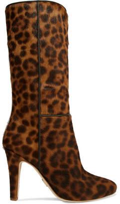 Brother Vellies - Leopard-print Calf Hair Boots - Leopard print