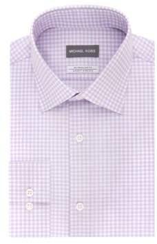 Michael Kors Regular-Fit Airsoft Stretch Gingham Dress Shirt