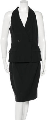 Rachel Roy Wool Tuxedo Dress $95 thestylecure.com