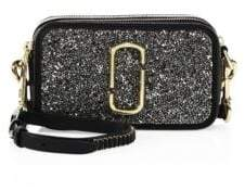 Marc Jacobs Snapshot Double Take Small Glitter Camera Bag
